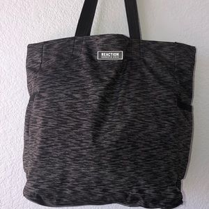 Kenneth Cole Grey/black marbled tote